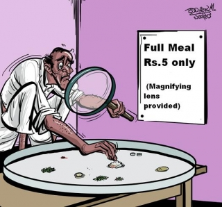 Full meal for Rs.5 ?.. Here is how to get it..