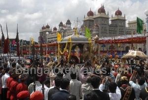 ವೈಭವದ ಮೈಸೂರು ದಸರಾ ಮೆರವಣಿಗೆ (ಸಂಗ್ರಹ ಚಿತ್ರ)