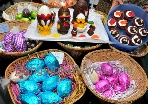 Artistic eggs-aggeration for Easter by Chocolate Junction